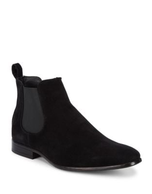 Square Toe Chelsea Boots...