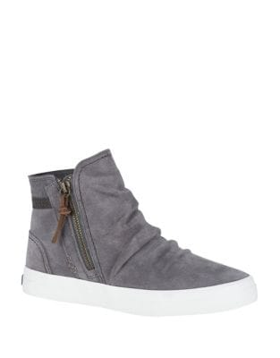Crest Suede Ankle Boots by Sperry