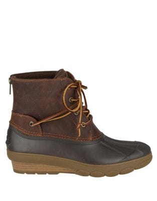Saltwater Ankle Boots by Sperry