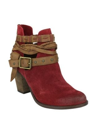Cuthbert Suede Booties by Naughty Monkey