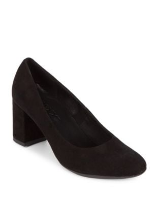 Seriously Kid Suede Pumps...