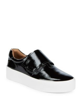 Photo of Jaiden Patent Leather Sneakers by Calvin Klein - shop Calvin Klein shoes sales