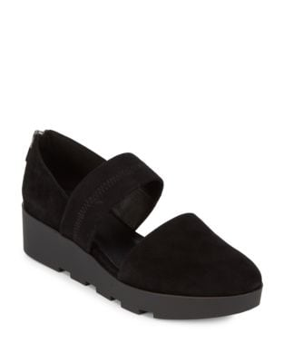 Top Strap Slip On Shoes by Eileen Fisher