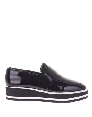 Venuz Patent Leather Loafers by Sol Sana