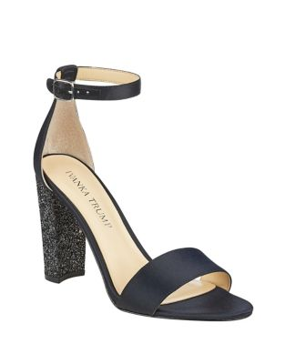 Emalyn 4 Satin Ankle Strap Sandals by Ivanka Trump