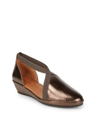 Natalia Leather Demi-Wedge by Gentle Souls