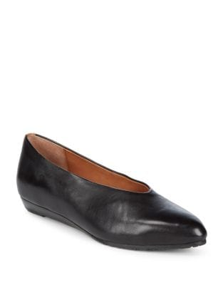 Neptune Leather Flats by Gentle Souls