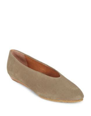 Neptune Suede Flats by Gentle Souls