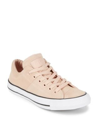 Madison Lace-Up Leather Sneakers by Converse