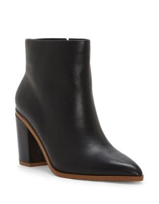 Paven Leather Booties by 1.STATE
