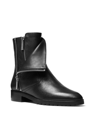 Andi Leather Booties by MICHAEL MICHAEL KORS