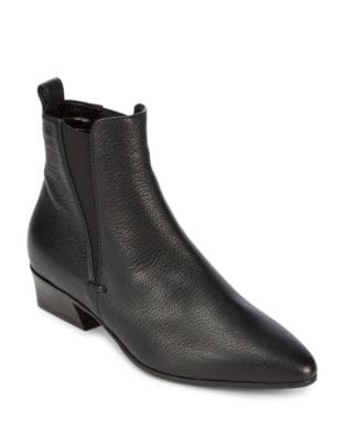 Fabienne Leather Bootie by Aquatalia