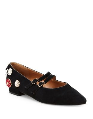 Armory Suede Mary Jane by Nanette By Nanette Lepore