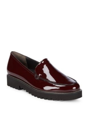 Jojo Patent Leather Loafers by Paul Green