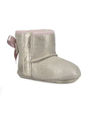 Baby Girls Jesse Bow II Metallic Boots
