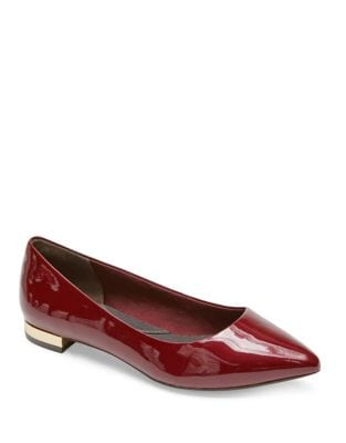 Adelyn Patent Leather Flats by Rockport