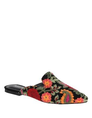 Cameo Slip-On Mules by Mia