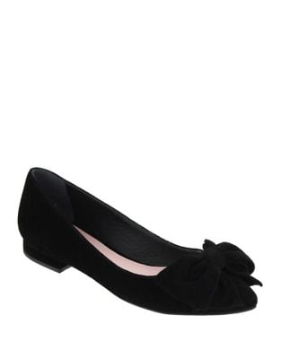 Delsie Suede Ballet Flats by Mia