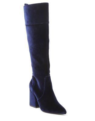 Talbert Velvet Tall Boots by Kensie