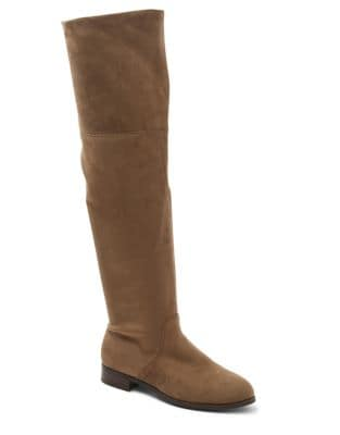 Talicia Microsuede Over-The-Knee Boots by Kensie