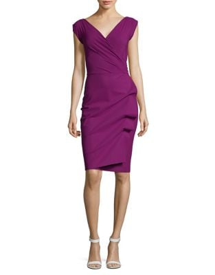 Ruffled Sheath Dress by Chiara Boni La Petite Robe