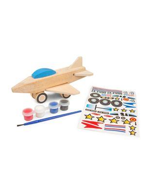 Wooden Jet Plane Model