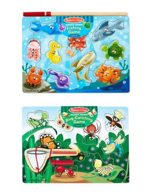 Fishing and Bug Catching Magnetic Game Bundle