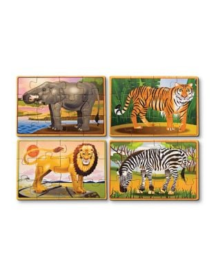 Wild Animals Puzzle in a Box
