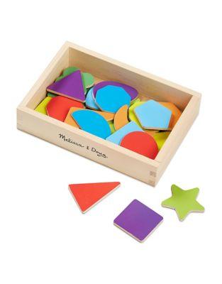 Wooden Shape Magnets