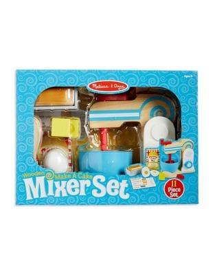 Make-a-Cake Wooden Mixer...