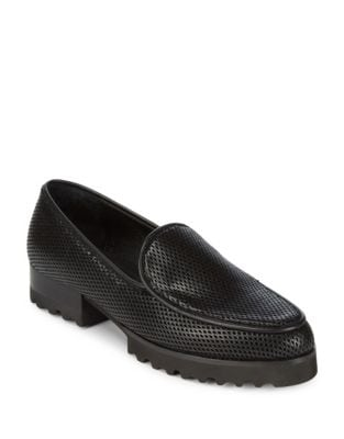 Elen Cap Toe Loafers by Donald J Pliner