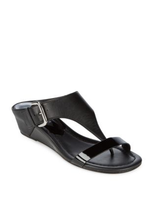 Doli Leather Slides by Donald J Pliner