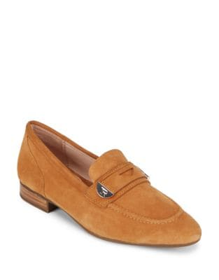 Beth Suede Loafers by Taryn Rose