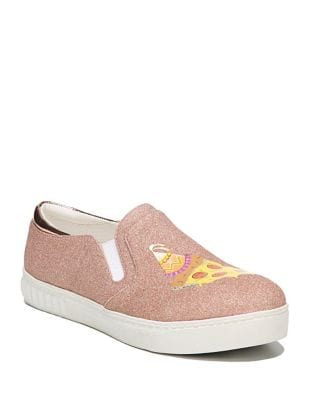 Charlie Pizza Party Fabric Sneakers by Circus by Sam Edelman
