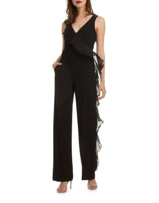 Ruffled Jumpsuit by Trina Turk