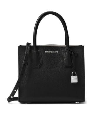 Mercer Medium Leather Messenger Bag 500087480618