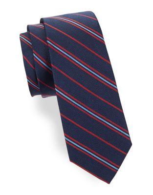 Boy's Silk Tri-Tone Tie...