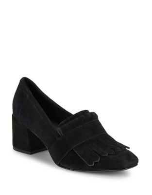 Macey Suede Loafers @...
