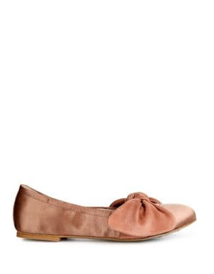 Pauline Satin Flats by Kenneth Cole New York