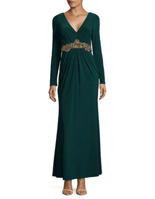 Embellished Evening Dress by Eliza J