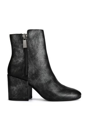 Rima Leather Booties by Kenneth Cole New York