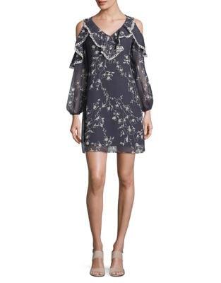 Cold Shoulder Shift Dress by Taylor