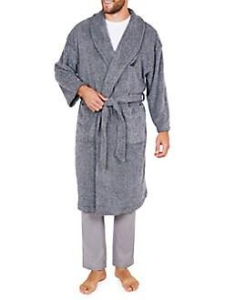 5c751435c4 Product image. QUICK VIEW. Nautica. Flecked Plush Robe