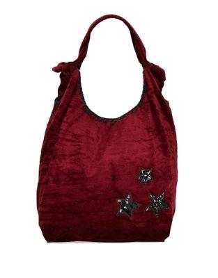 Embellished Hobo Bag...