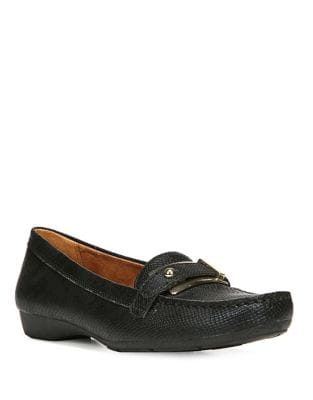 Gisella Textured Loafers...