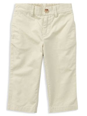 Baby Boys Basic Cotton Chino Pants