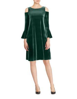 Roundneck Pull-On Dress by Lauren Ralph Lauren