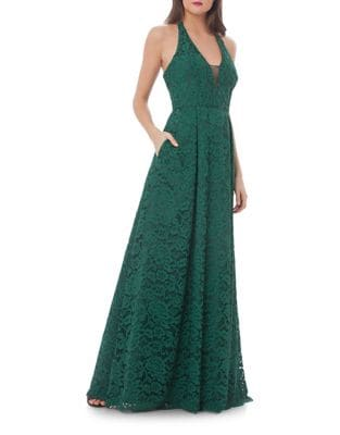 Lace Mermaid Dress by JS Collections