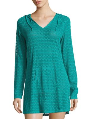 Mesh Cover-Up Hoodie by Prana