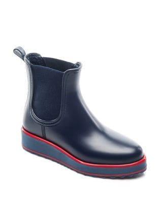 Willa Slip-On Rubber Boots by Bernardo
